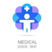 medical cross template logo