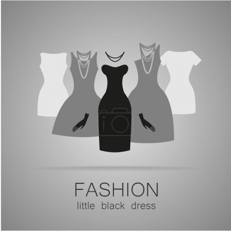 black dress set