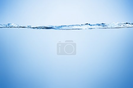 Photo for Water splash and air bubbles with space for text - Royalty Free Image