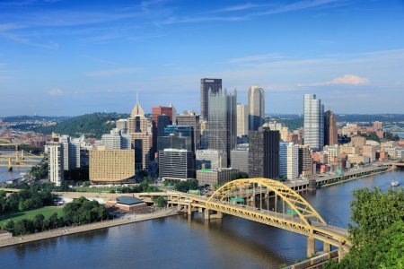 Pittsburgh skyline, United States