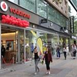 BERLIN, GERMANY - AUGUST 27, 2014: People shop at ...