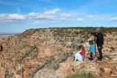 Visitatori del Grand Canyon