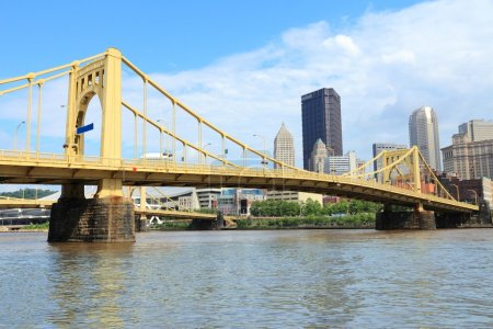 Pittsburgh, Pennsylvania - bridge skyline