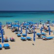 Постер, плакат: Cyprus tourists beach