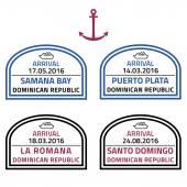 Dominican Republic - vector illustration