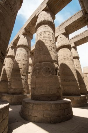 The Great Hypostyle Hall of the Temple of Karnak. ...