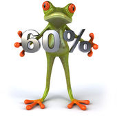Fun frog with 60 percent sale