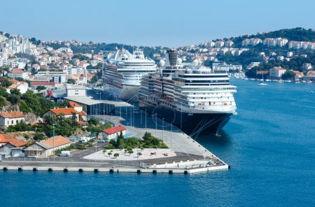 Sea port (Dubrovnik City, Croatia)