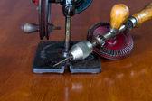 Vintage ruční pohon navigační viděl