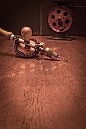 American Made Woodworker Hand Drill