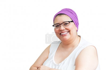 Middle Age Female Coping With Breast Cancer