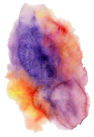 Watercolor spot