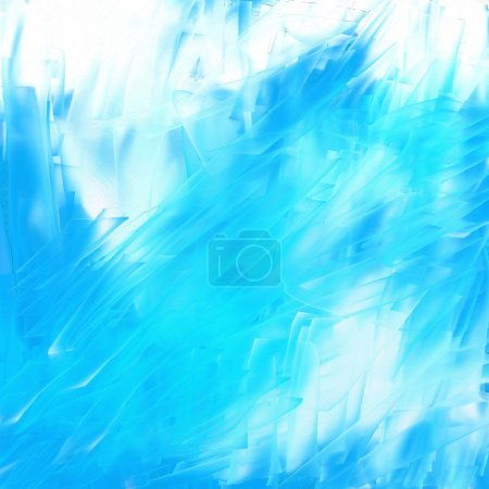 Photo for Abstract blue picturesque background. - Royalty Free Image