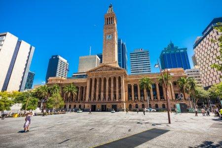 view of Brisbane City Hall