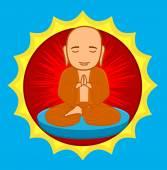 Divine Buddhist Monk
