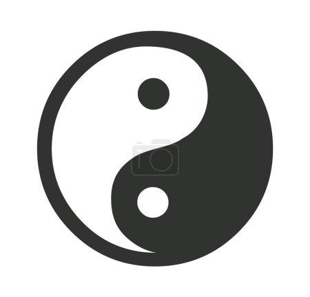 Daoism Vector Symbol Illustration...