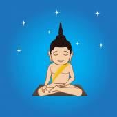 Gautama Buddha Doing Meditation