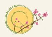 Dovolená květinové Banner Design