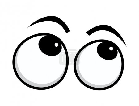 Rolling Eyes Cartoon Eyes