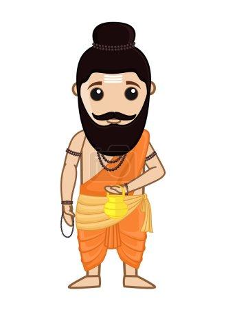 Maharishi Vishvamitra - Indian Saint Character