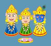 Shri Jagannath - Orissan God