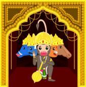 Panchmukhi Hanuman - Cartoon God