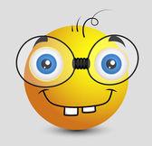 Funny Book Worm Emoji Smiley Emoticon