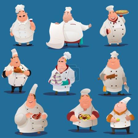 Chef  characters