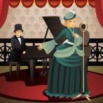 Постер, плакат: Singer and Pianist
