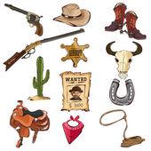 Amerikai régi nyugati ikonok
