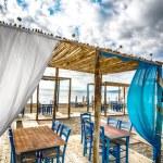 Greek tavern on beach...