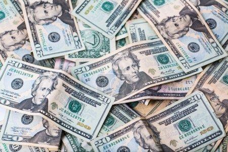 US Twenty Dollar bills