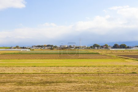 Photo for Farmland in Japan - Royalty Free Image