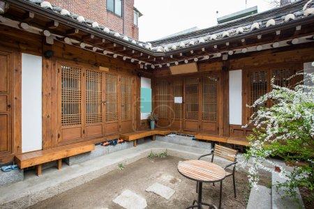 Maison ancienne de Corée