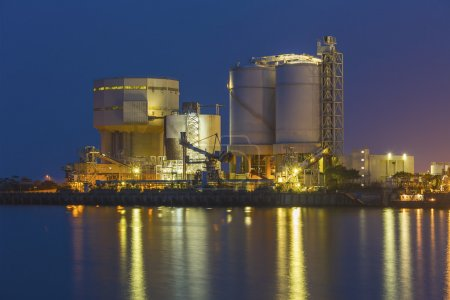 Photo for Petrochemical industrial plant - Royalty Free Image