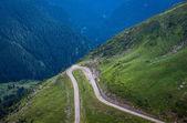 Transfagarasan Highway v Rumunsku