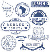 Bergen county NJ generic stamps and signs
