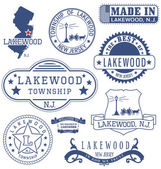 Lakewood township NJ generic stamps and signs