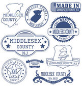 Middlesex county NJ generic stamps and signs