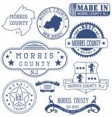 Morris county NJ generic stamps and signs