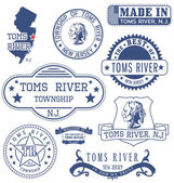 Toms River township NJ generic stamps and signs