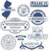Woodbridge township NJ generic stamps and signs