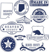 Beaver county PA generic stamps and signs