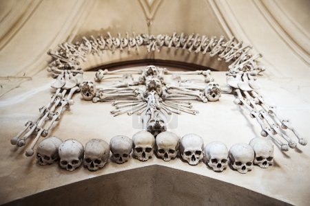 Decoration of one mysterious czech chapel