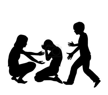 Photo pour Signe de la notion de développer des compétences sociales dans l'enseignement primaire - image libre de droit