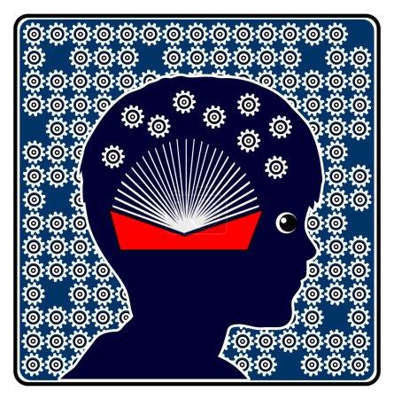 Photo pour Signe de concept pour montrer l'importance des livres dans l'éducation de la petite enfance - image libre de droit