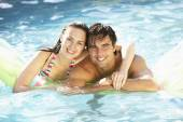 Pár relaxační bazén