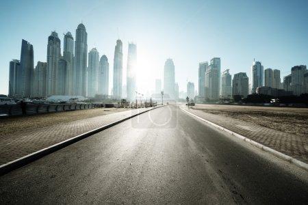 Photo for Road in Dubai, United Arab Emirates - Royalty Free Image