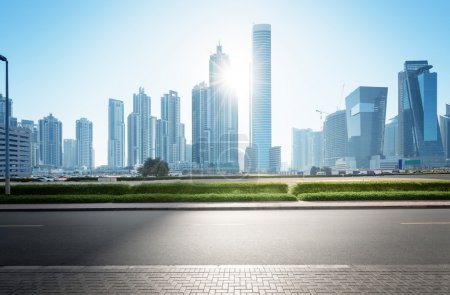 Photo for Dubai skyline, United Arab Emirates - Royalty Free Image