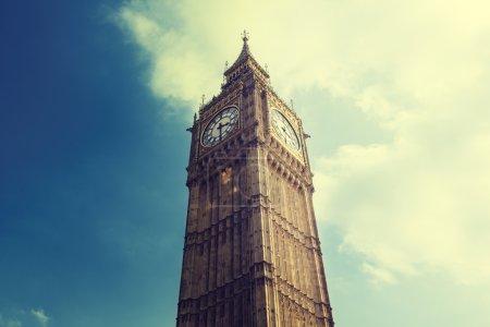 Photo pour Big ben à Londres, Royaume-Uni - image libre de droit